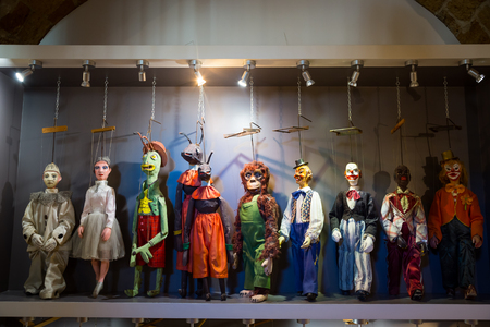 Original Pupo Siciliano (Sicilian puppets, Italy).