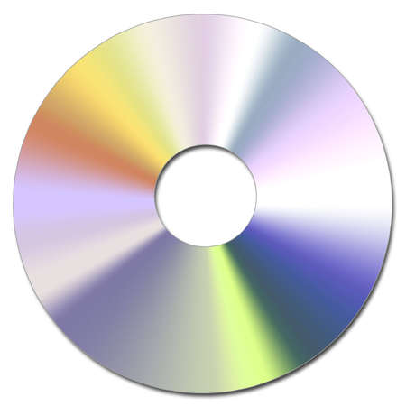 cd rw: Illustration of the Compact Disc