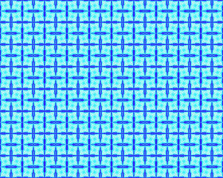 reticular: Reticular pattern with blue cross and grid Stock Photo