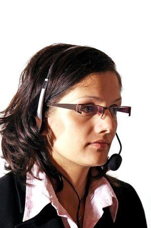 mortal: Woman with headphones
