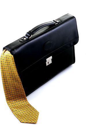 Briefcase with tie