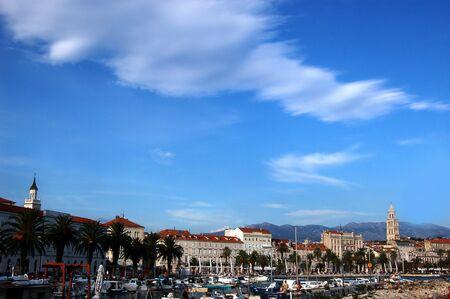Postcard from Split in Croatia Stock Photo - 3198054