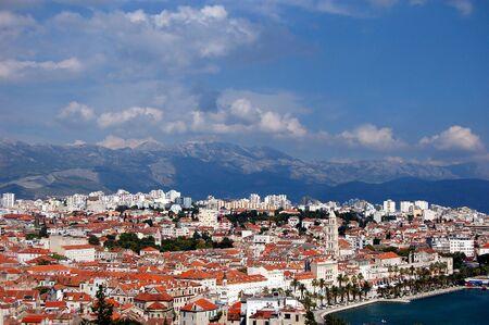 Postcard from Split in Croatia Stock Photo - 3198064