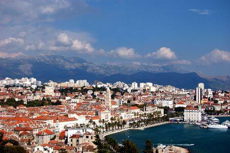 Postcard from Split in Croatia Stock Photo - 3198060