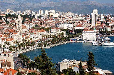 Postcard from Split in Croatia