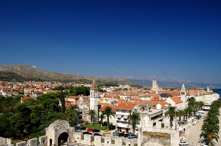 Postcard from Trogir in Croatia Stock Photo - 3198063