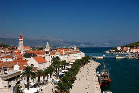 Postcard from Trogir in Croatia Stock Photo - 3198058