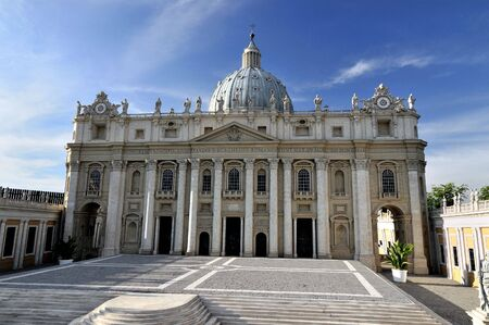 Saint Peter's Basilica in Vatican 免版税图像
