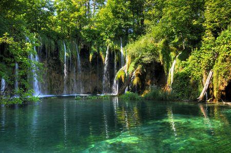 Nationaal Park Plitvice in Kroatië