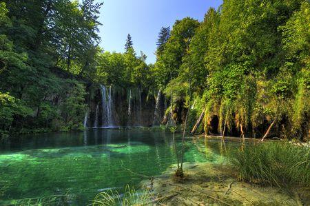 National Park Plitvice in Croatia