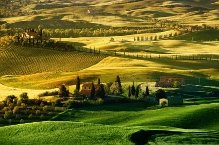 Paisaje en Toscana