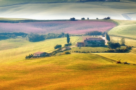 Landscape in Tuscany Stock Photo - 19551007