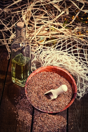 linseed oil: Linseed oil, a healthy diet