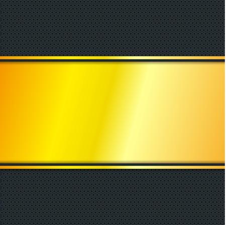 background textures: Golden Stripe with Black Background, Vector, Illustration