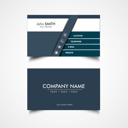 Simple business card template vector illustration eps file simple business card template vector illustration eps file stock vector 83413610 friedricerecipe Choice Image