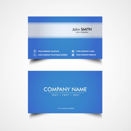 Simple business card template vector illustration eps file simple business card template vector illustration eps file stock vector 83475251 friedricerecipe Choice Image
