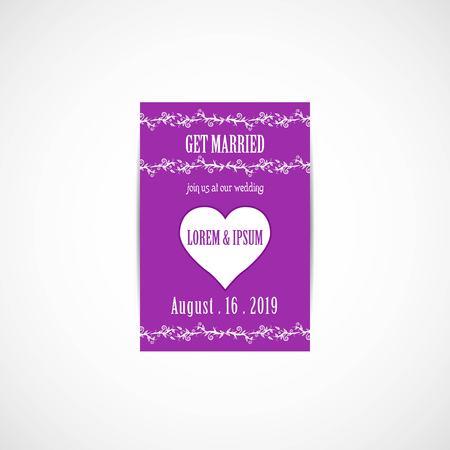 Wedding invitation card vector illustration eps file royalty wedding invitation card vector illustration eps file vector stopboris Image collections