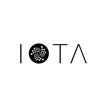IOTA暗号仮想コイン%2Cベクトルイラストファイル