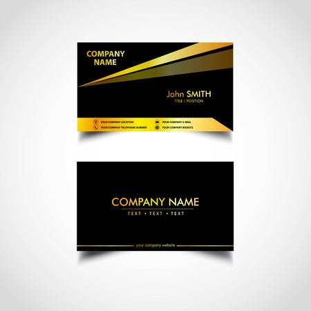Golden business card template vector us size eps file royalty golden business card template vector us size eps file stock vector 92738081 friedricerecipe Choice Image