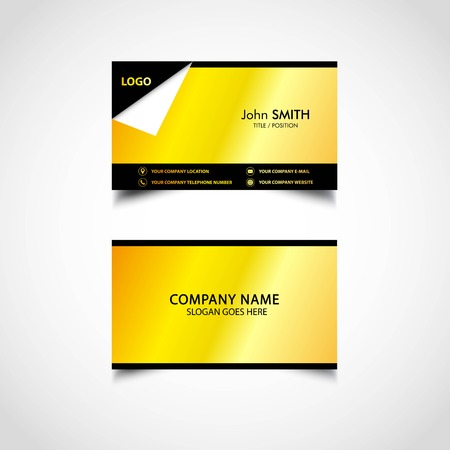 Golden business card template vector us size eps file royalty golden business card template vector us size eps file stock vector 92824684 friedricerecipe Choice Image