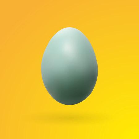 Realistic egg with colorful background, vector, illustration, eps file Ilustração