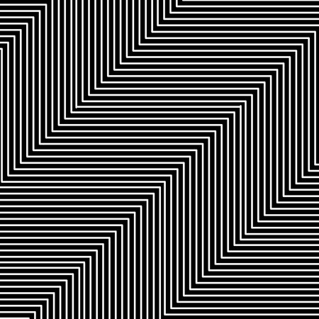 Black and white hypnotic illusion background, vector, illustration, eps file Stockfoto - 127343541