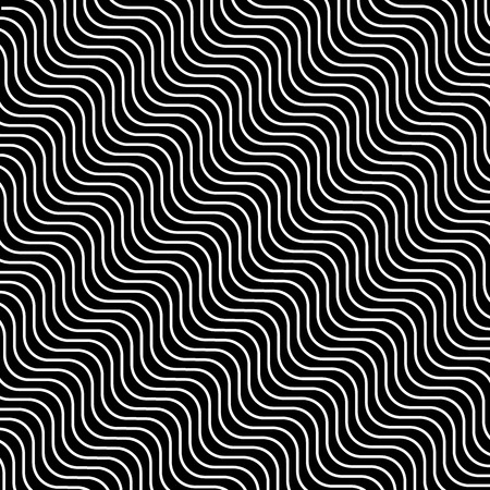 Black and white hypnotic illusion background, vector, illustration, eps file