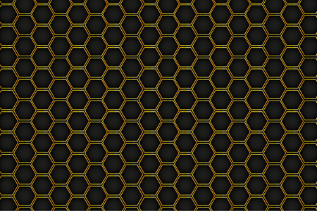 Honeycomb background, vector, illustration, eps 10 file Banco de Imagens - 124995970