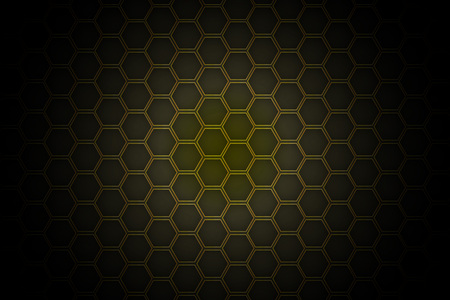 Honeycomb background, vector, illustration, eps 10 file Banco de Imagens - 124995971