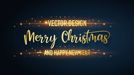 Merry christmas background, happy new year, vector, illustration.