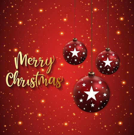 Merry christmas background, Happy new year 2021 Background vector illustration Stock Illustratie