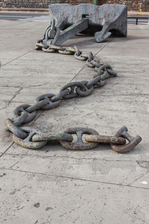 oxydation: Metal Chain