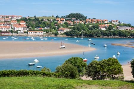 cantabria: Coastal village in Cantabria, San Vicente de la Barquera,Spain