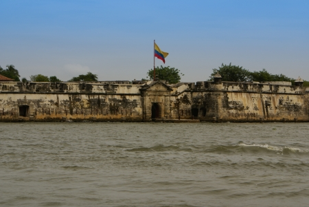barajas: The Castillo San Felipe de Barajas is a fortress in the city of Cartagena, Colombia