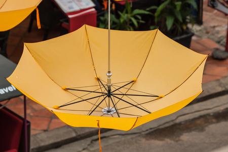 colorful umbrella street decoration Stock Photo - 26012925