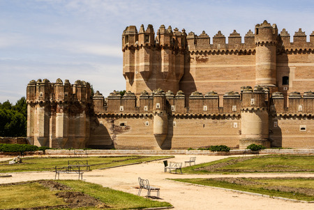 Coca Castle (Castillo de Coca) is a fortification constructed in the 15th century and is located in Coca, in Segovia province, Castilla y Leon, Spain
