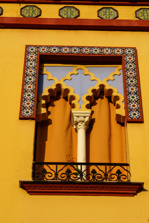 detail of Mosque-Cathedral, Cordoba, Andalusia, Spain photo