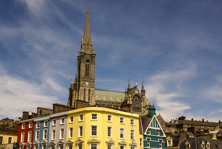 neogothic: St. Colmans neo-Gothic cathedral in Cobh, South Ireland