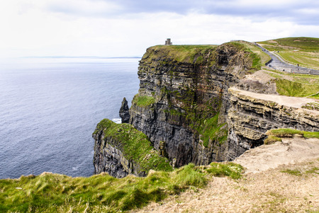Cliffs of Moher in County Clare, Ireland 版權商用圖片