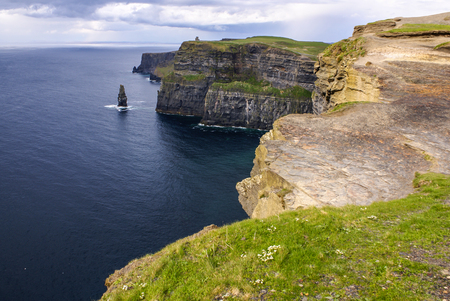 munster: Cliffs of Moher in County Clare, Ireland Stock Photo