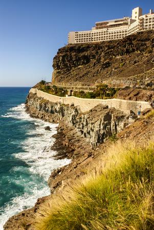 canarias: coast line view in the gran canarias