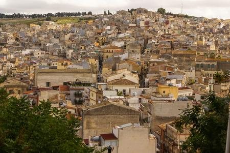 calatafimi: Calatafimi view of city ,sicilia,italy