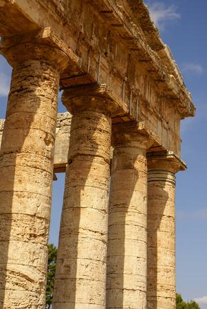 antica grecia: segesta sito archeologico dell'antica grecia trapani Sicilia Italia