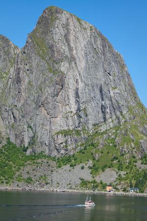 berm: lofoten islands norway Stock Photo