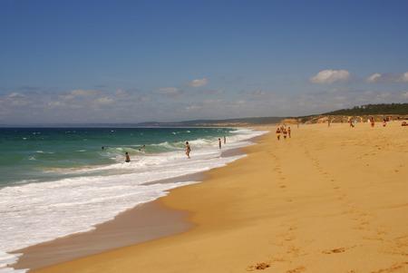 vilamoura: Beach on Atlantic Ocean Coast in near Furadouro, Portugal