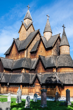 Stave Church Heddal, Norway photo