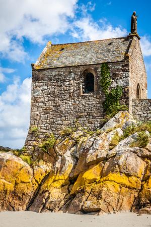 Le Mont Saint Michel, Normandy, France photo
