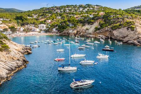 vedra: Es vedra island of Ibiza  Cala d Hort in Balearic islands