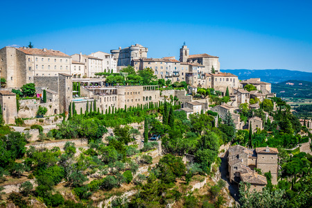 Gordes medieval village in Southern France (Provence) photo