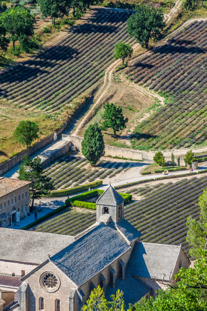 abbaye: Abbaye de Senanque near village Gordes, Vaucluse region, Provence, France